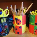 Stifte und Scheren